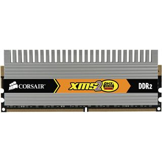 2GB Corsair XMS2 DHX DDR2-800 DIMM CL5 Dual Kit