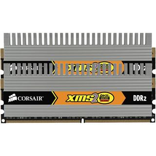4GB Corsair XMS2 DHX DDR2-800 DIMM CL5 Dual Kit