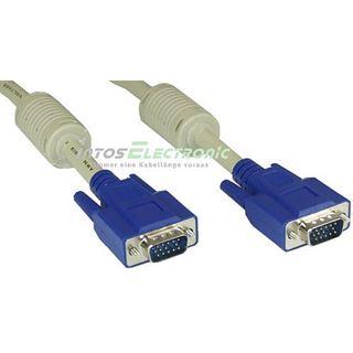 (€1,72*/1m) 25.00m InLine VGA Anschlusskabel doppelt geschirmt