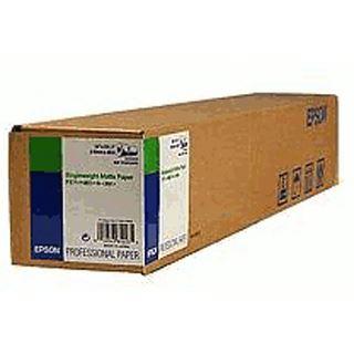 Epson Singleweight Matte Papierrolle 24 Zoll ( 61 cm x 40 m) (1 Rolle)
