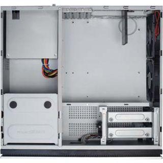 Antec NSK-2480 Desktop 380 Watt schwarz/silber