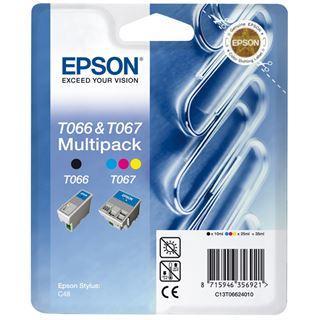 Epson Tinte C13T06624010 schwarz/cyan/magenta/gelb