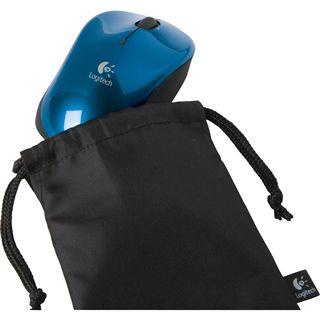 Logitech Bluetooth V470 Laser Maus Blau USB