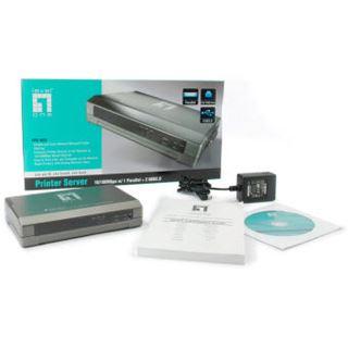 LevelOne FPS-1033 1x parallel/2x USB
