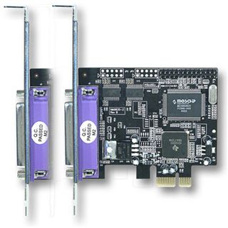 Longshine LS-6320 2 Port PCIe x1 retail