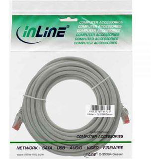 (€0,62*/1m) 50.00m InLine Cat. 6 Patchkabel S/FTP PiMF RJ45