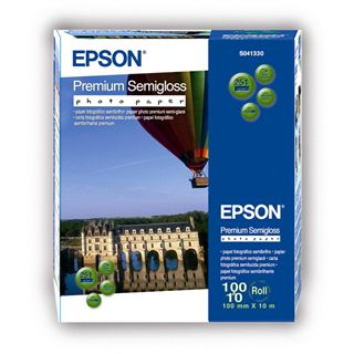 Epson Premium Semigloss Fotopapier (1 Rolle (10 cm x 8 m))