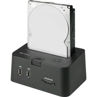 "Sharkoon SATA Quickport Pro USB 2.0 Dockingstation für 2.5"""