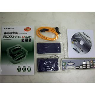 Gigabyte GA-MA78G-DS3H AMD780G AM2+ HTB 5200MT/s PCIe ATX