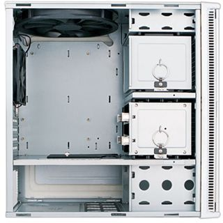µATX Antec Performence One Mini P180 Mini Tower o.NT Silber
