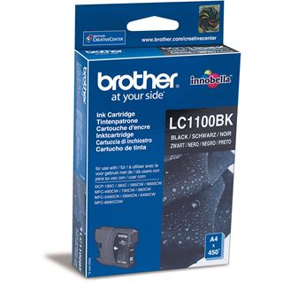 Brother Tinte LC1100BK schwarz