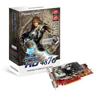 1024MB PowerColor Radeon HD 4870 PCS+ GDDR5 PCIe bulk