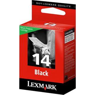 Lexmark Druckkopf mit Tinte Nr.14 18C2090E schwarz
