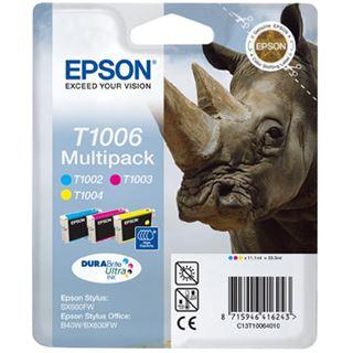 Epson Tinte C13T10064010 cyan/magenta/gelb