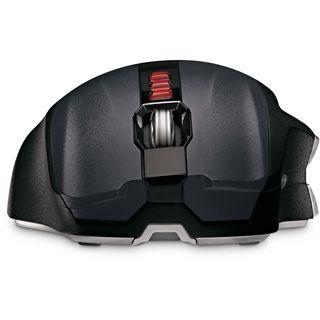Microsoft Wireless SideWinder X8 Laser Gaming Maus Blau USB