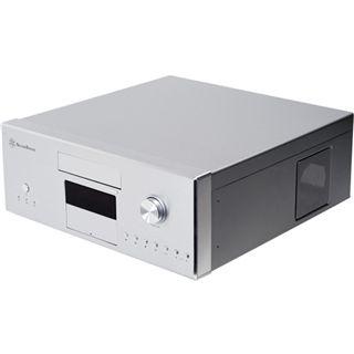 Silverstone La Scala LC16-S-MR Desktop ohne Netzteil silber