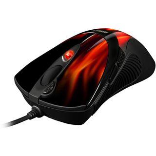 Sharkoon FireGlider USB rot (kabelgebunden)
