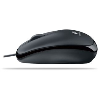Logitech B105 Optische Maus Schwarz USB OEM