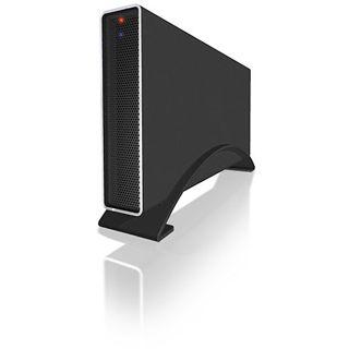 """ICY BOX IB-318StUS2-B 3.5"""" (8,89cm) eSATA/USB 2.0 schwarz"""