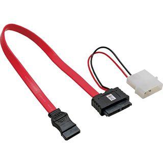 (€16,33*/1m) 0.30m InLine SATA Anschlusskabel SATA Stecker +