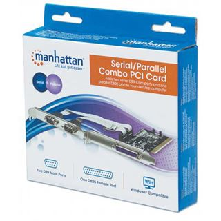 Manhattan, Serial 2 port + 1 Parallel , PCI