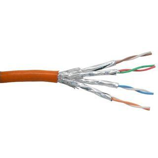 (€0,52*/1m) 100.00m InLine Cat. 6 Patchkabel S/FTP PiMF Orange