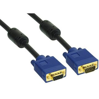 (€13,80*/1m) 0.50m InLine S-VGA Verlängerungskabel VGA