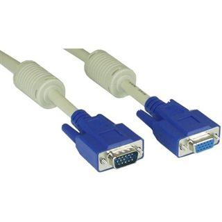 (€4,60*/1m) 1.50m InLine S-VGA Verlängerungskabel VGA 15pol