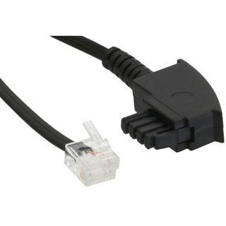 (€0,33*/1m) 15.00m InLine TAE-F Anschlusskabel TAE-F Stecker auf