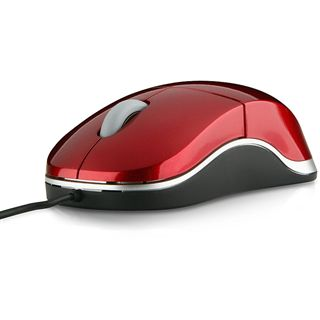 Speedlink Snappy Smart Mobile USB Mouse, red