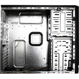 Rasurbo Basic & Case BC-12 Midi Tower ohne Netzteil schwarz