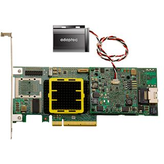 Adaptec RAID 5405Z 1 Port Multi-lane PCIe x8 4GB NAND-Flash/Low
