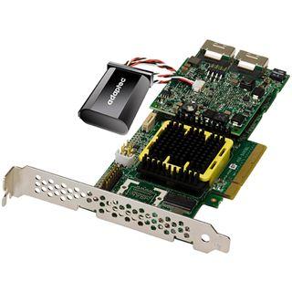 Adaptec RAID 5805Z 2 Port Multi-lane PCIe x8 4GB NAND-Flash/Low
