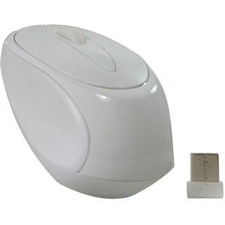 Perixx Wireless Perimice-703W Optische Maus Weiß USB