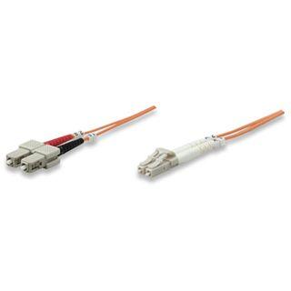 (€3,95*/1m) 2.00m Intellinet LWL Duplex LWL Anschlusskabel