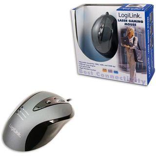 LogiLink ID0015 USB schwarz/silber (kabelgebunden)