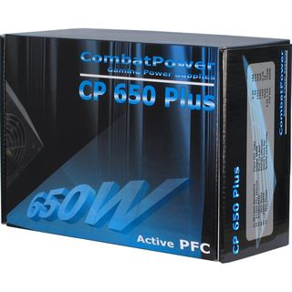 650 Watt Inter-Tech Combat Power CP-650W plus Non-Modular