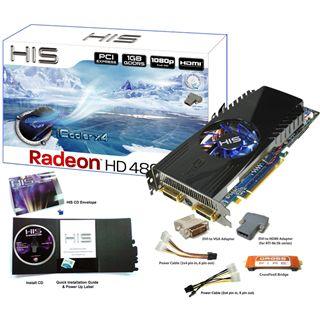 1024MB HIS Radeon HD4890 iCoolerX4 GDDR5 PCIe