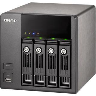 "QNAP Turbostation TS-410 NAS System für 4x2,5"" oder"