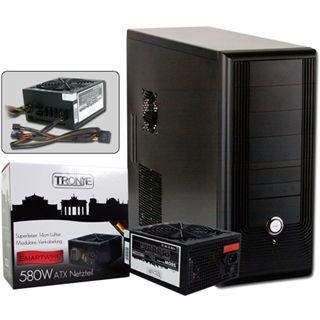 ATX Midi Tronje T-110 schwarz inkl. 580W (TRGN26563)