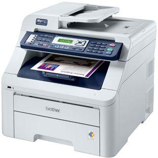 Brother MFC-9320CW Farblaser Drucken/Scannen/Kopieren/Faxen LAN/USB