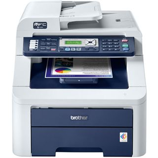Brother MFC-9120CN Multifunktion Laser Farb Drucker 2400x600dpi LAN/U
