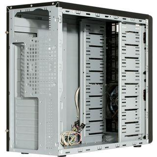 nox Coolbay 25B Midi Tower ohne Netzteil schwarz
