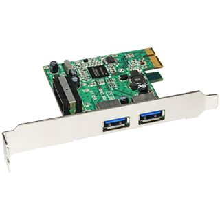 Sharkoon USB 3.0 Host Controller Card 2 Port PCIe x1 retail