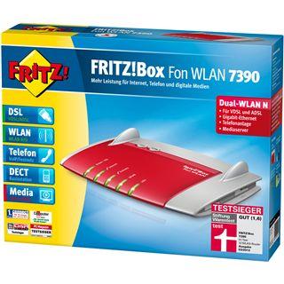 AVM FRITBox 7390 4 Port Router 300Mbit/s