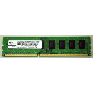 2GB G.Skill NT Series DDR3-1333 DIMM CL9 Single