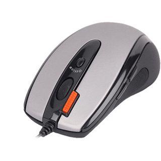 A4tech X6-70MD Glaser Mini Mouse PS/2 & USB grau/schwarz