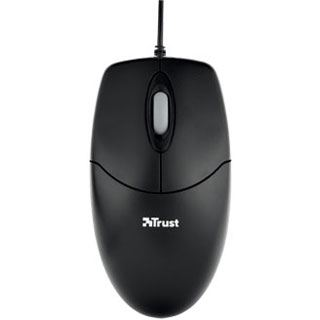 Trust Optical Mouse USB schwarz (kabelgebunden)