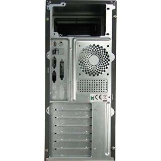 ATX Inter-Tech Emotion CA-01 Midi Tower 500 Watt Schwarz