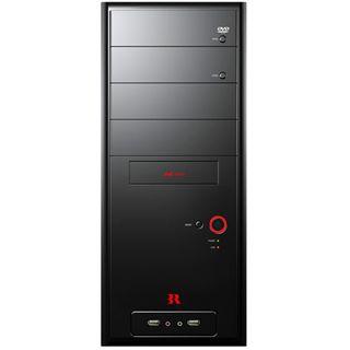 3R Systems K400(+) Midi Tower ohne Netzteil schwarz